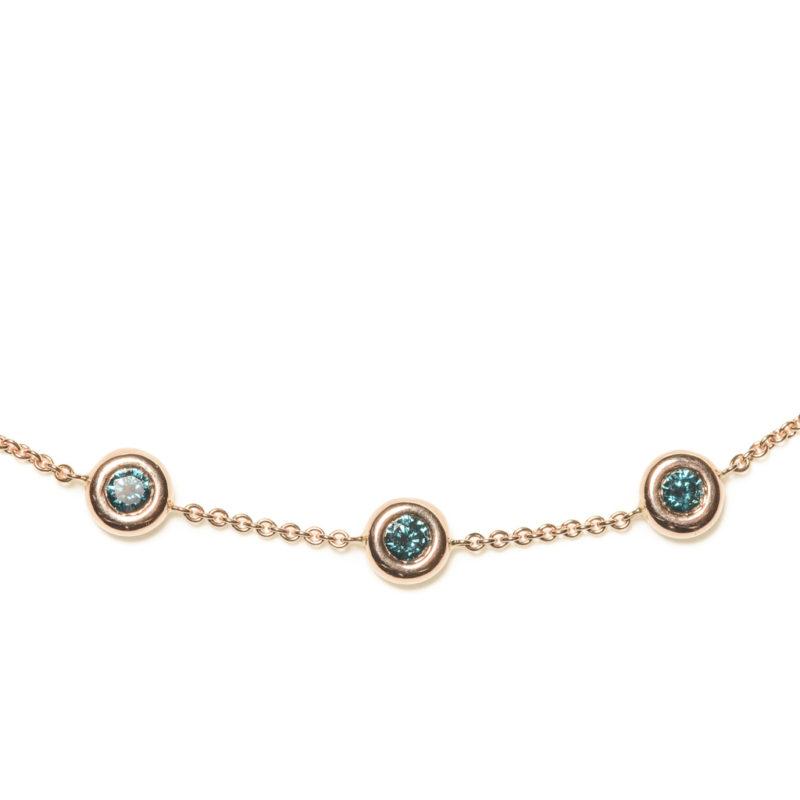 Armband mit 3 Diamanten