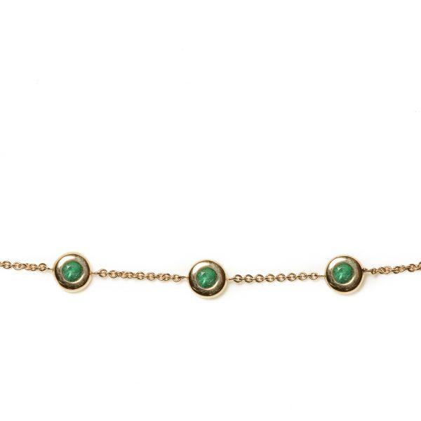 Armband mit Smaragd