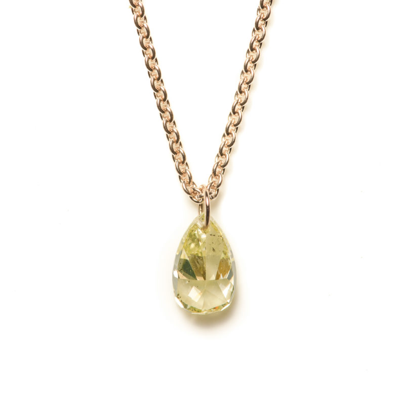 "Collier Herz ""Diamonds pure"""